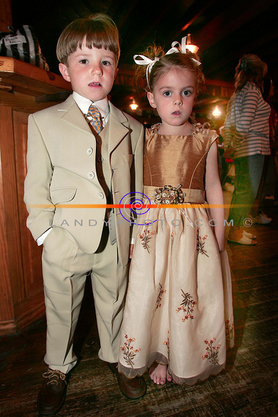 Fintan Linnane and Orla Sadlier Morrison at the St Josephs Secondary school Fashion Show  in the Cliff House Hotel in Ballybunion.<br /> Photo Brendan Landy